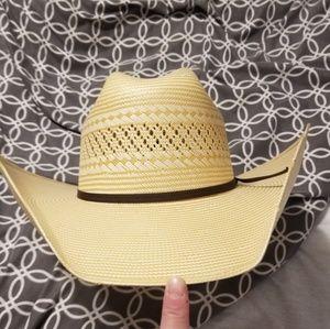 Women's hard straw cowgirl Hat